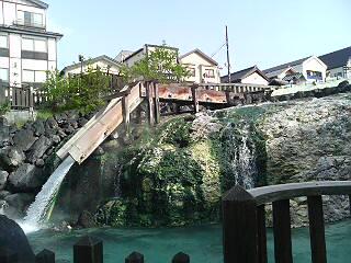 草津名物湯畑です